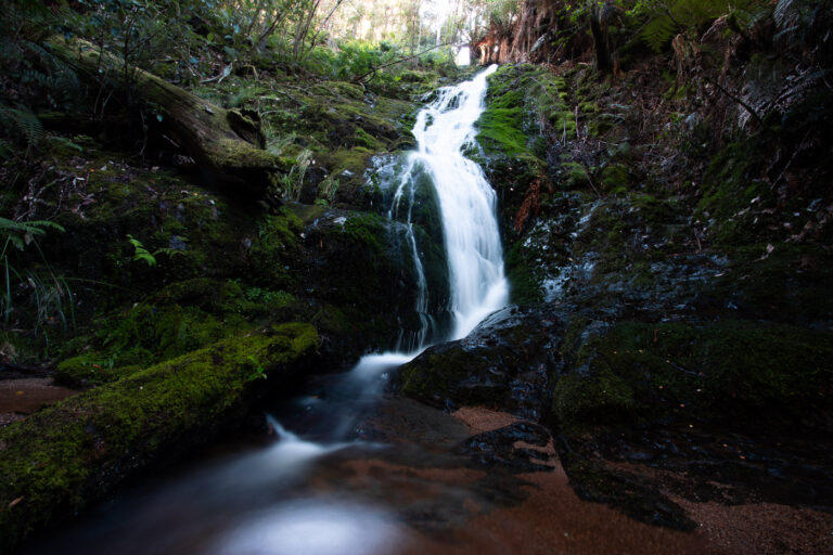 EVERCREECH FALLS WATERFALL TASMANIA