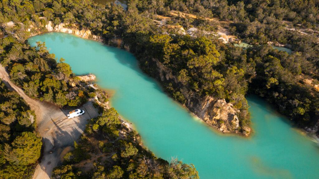 LITTLE BLUE LAKE AUSTRALIA