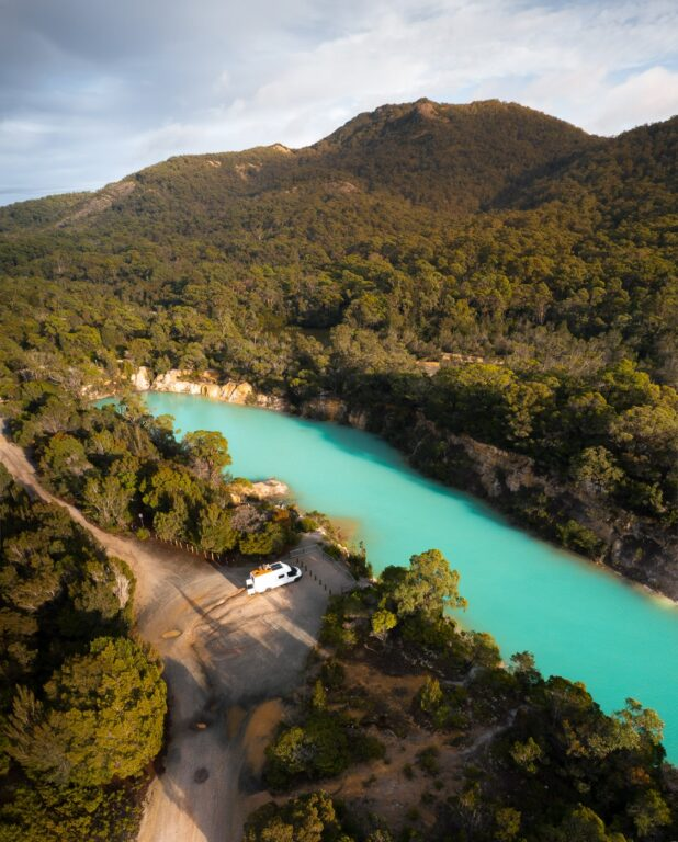TASMANIA LITTLE BLUE LAKE