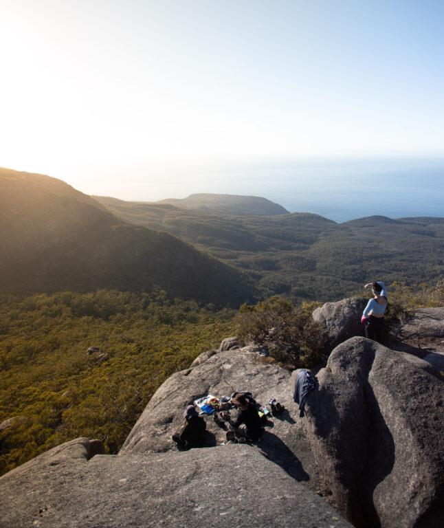 SOUTH VIEW FRMO MOUNT FREYCINET