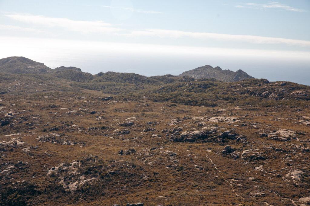 MOUNT GRAHAM TRACK FREYCINET PENINSULA CIRCUIT HIKE