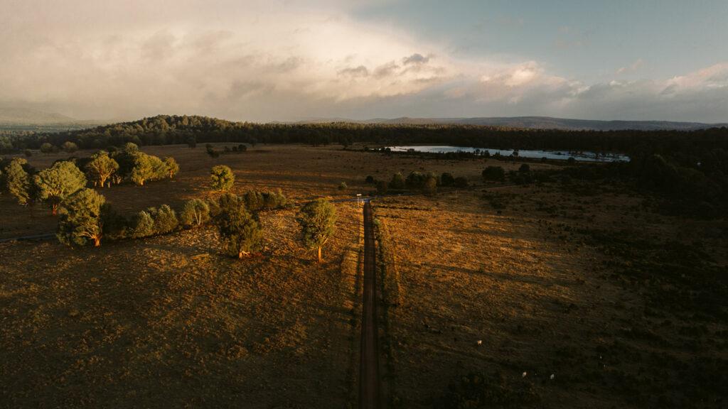 BRADYS LAKE TASMANIA