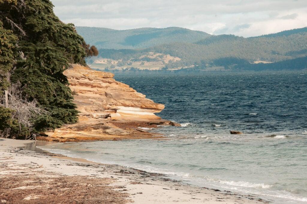SWIMMING BEACH AT MARIA