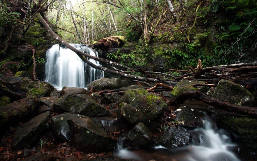 WATERFALLS NEAR HOBART TASMANIA