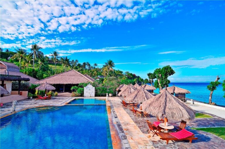 PASIFIC BACH COTTAGES LOMBOK INDONESIA ACCOMMODATION