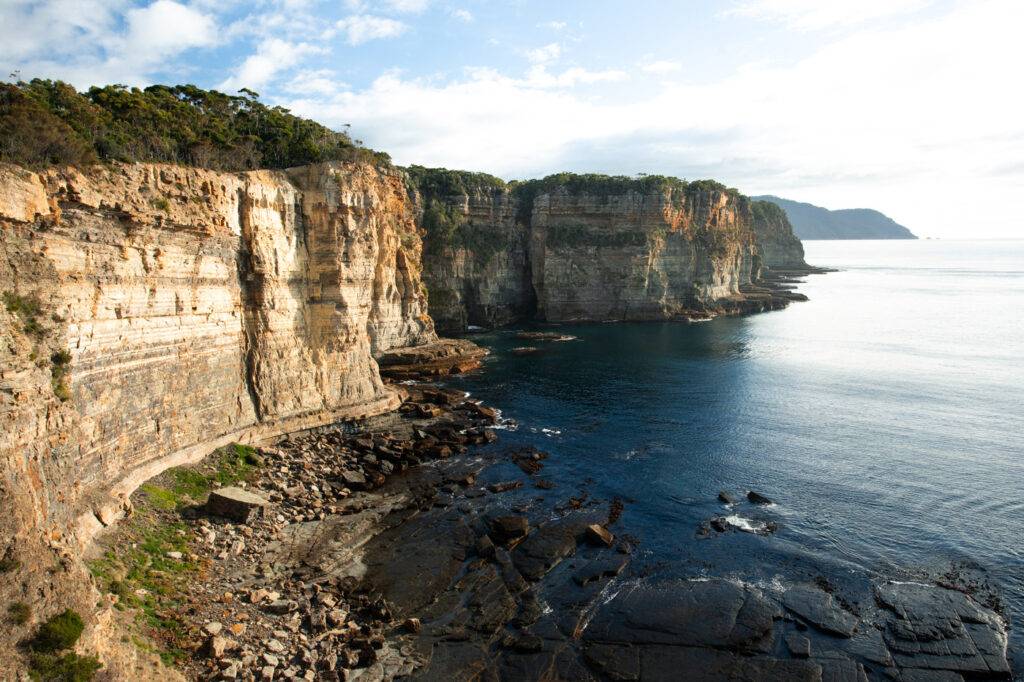 WATERFALL BAY TASMANIA PATTERSONS ARCH
