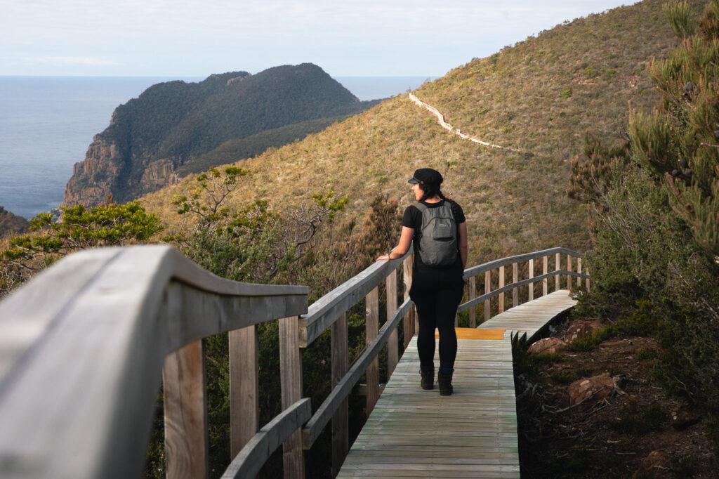 HIKING THE THREE CAPES TRACK IN TASMANIA