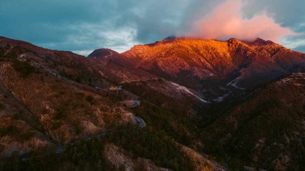 QUEENSTOWN MOUNTAINS, WESTERN TASMANIA
