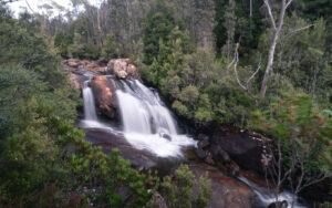 ARVE FALLS WATERFALL IN TASMANIA