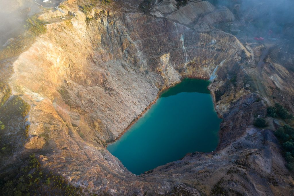 IRON BLOW MINE, THINGS TO DO AT STRAHAN, WEST COAST TASMANIA