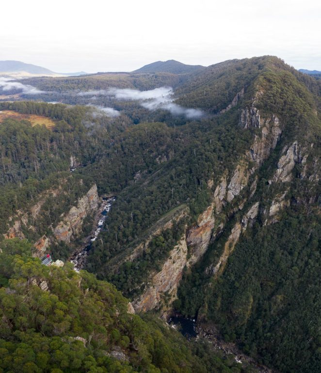 LEVEN CANYON LOOKOUT