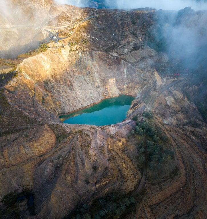 IRON BLOW LOOKOUT TASMANIA