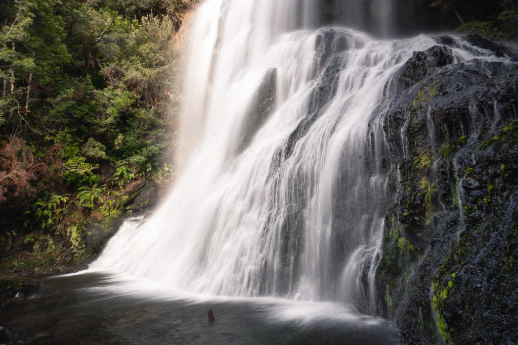 BRIDAL VEIL FALLS, CRADLE MOUNTAIN TASMANIA