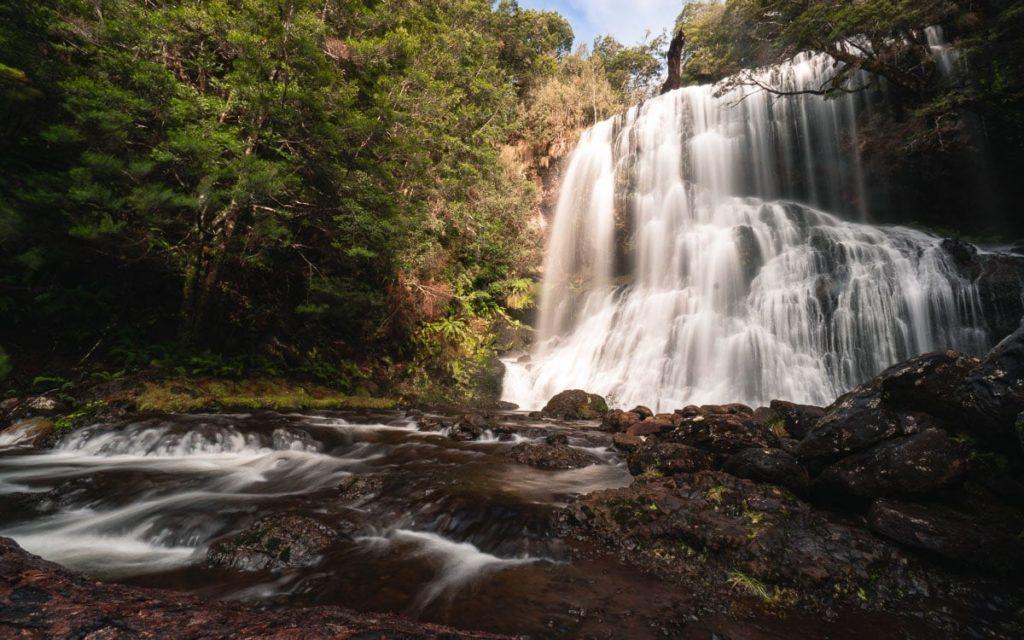 BRIDAL VEIL FALLS TASMANIA