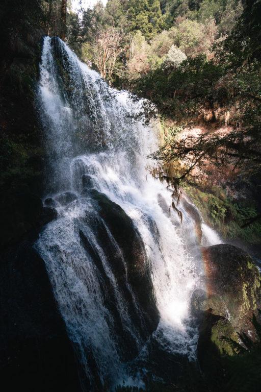 CHAMPAGNE FALLS TASMANIA