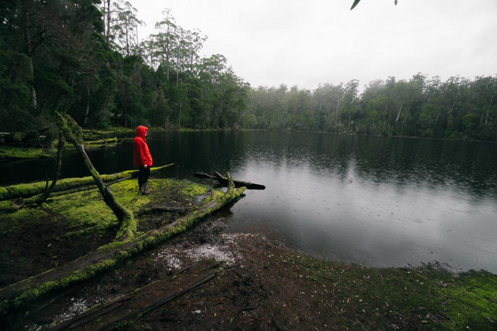 LAKE CHRISHOLM IN TASMANIA