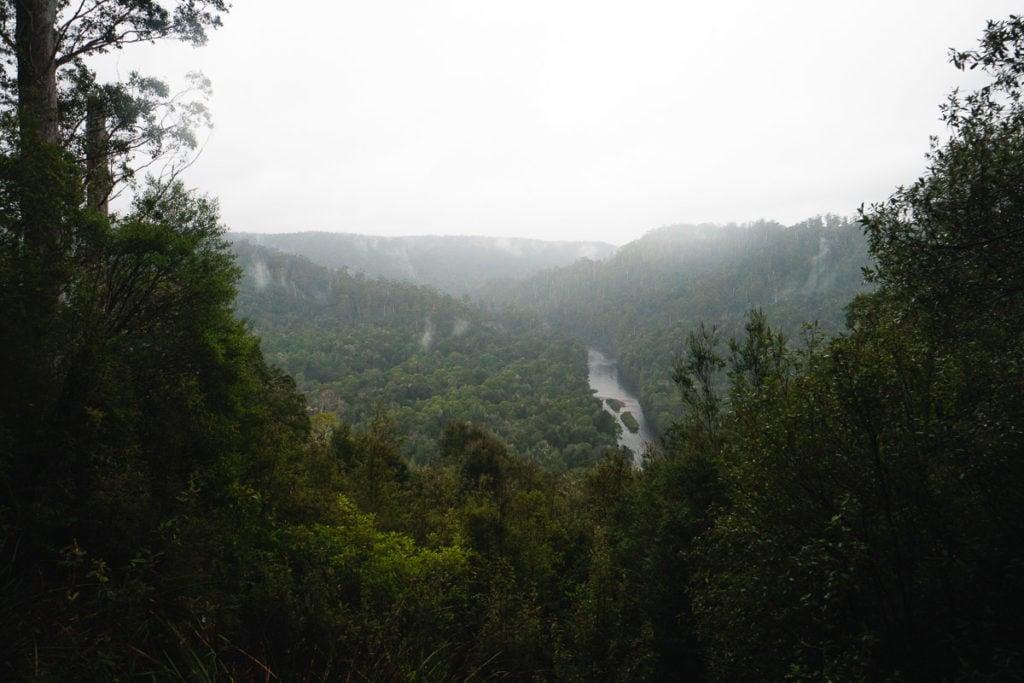 SUMAC LOOKOUT TASMANIA