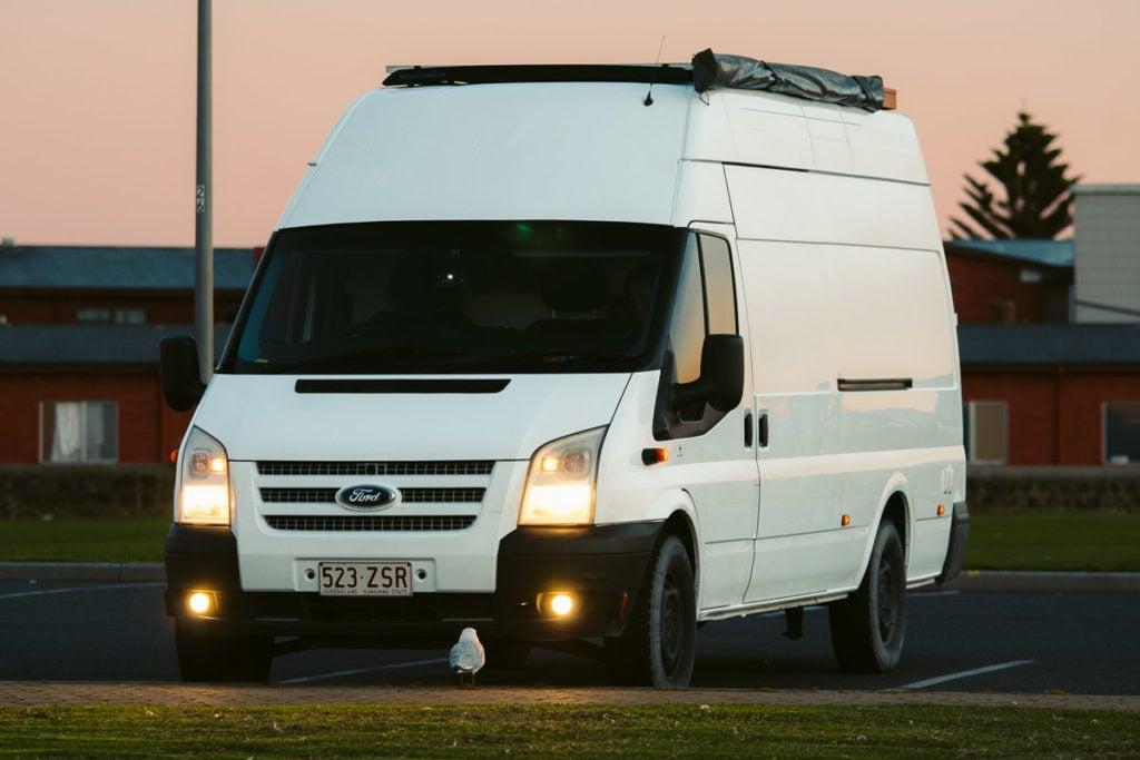 We Seek Travel Van