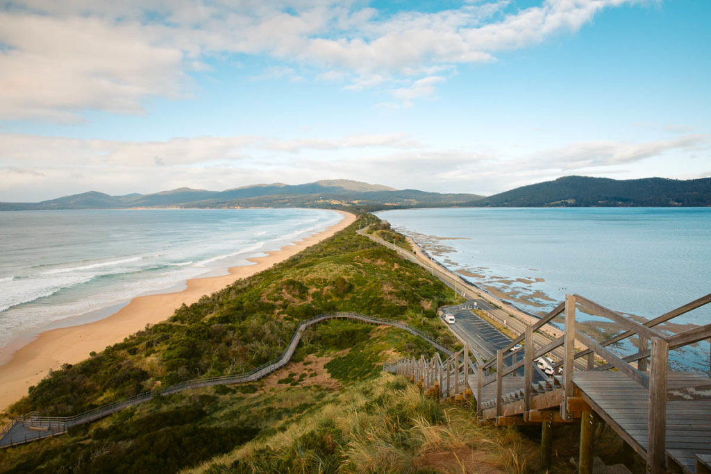THE NECK LOOKOUT ON BRUNY ISLAND