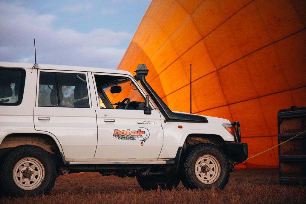 Hot Air Balloon Cairns, 4WD