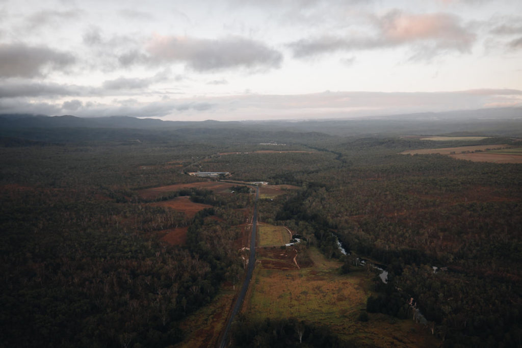 MAREEBA AND THE TABLELANDS FROM ABOVE