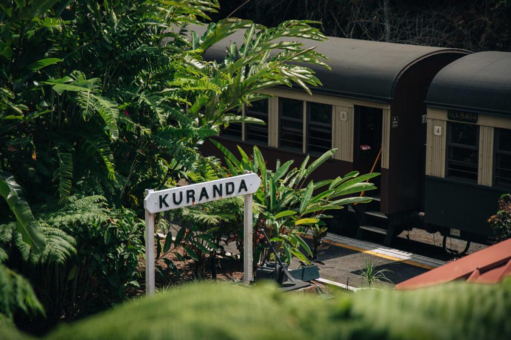KURANDA SCENIC RAIL STATION