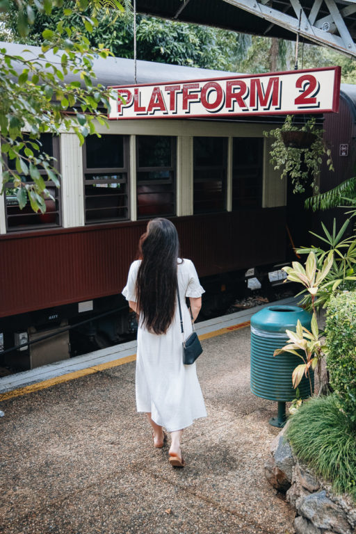KURANDA SCENIC RAIL STATION PLATFORM 1
