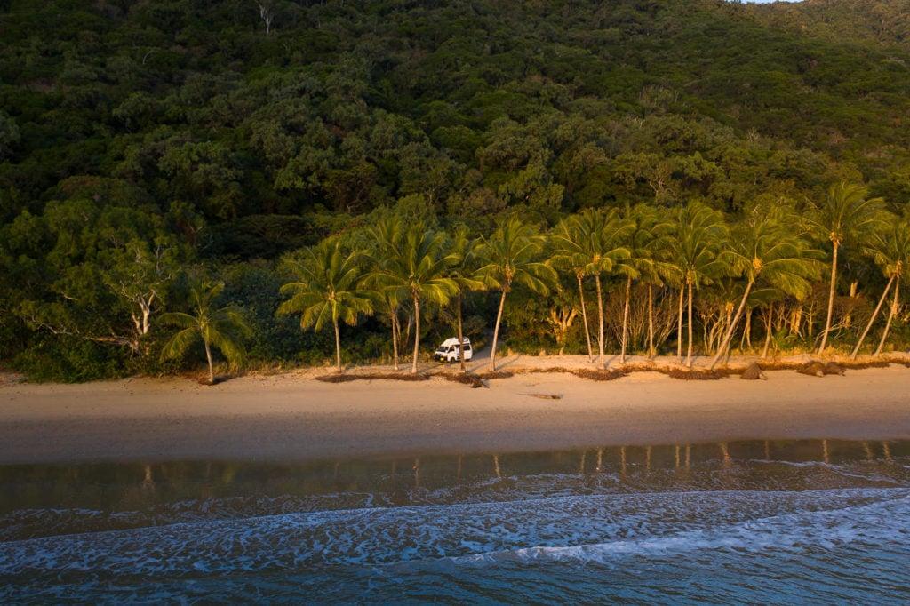 rental van in Cairns, Australia
