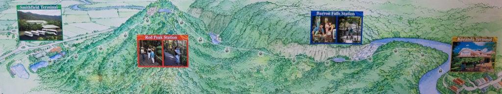 SKYRAIL MAP