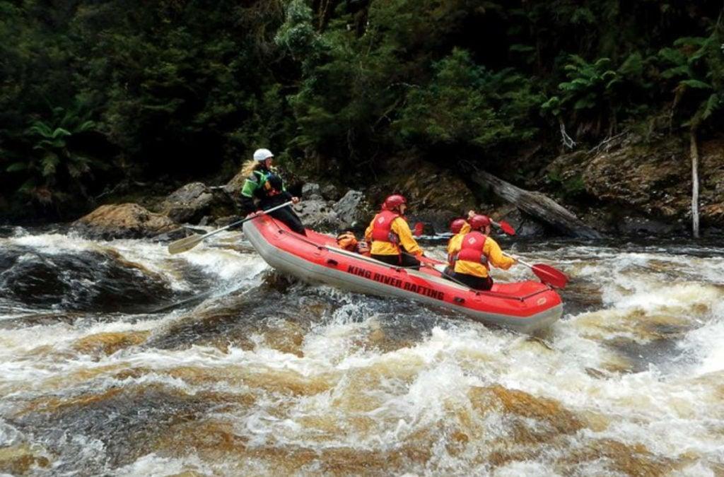 White Water Rafting King River Tasmania